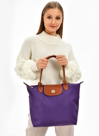 TH Bags Çanta Mürdüm